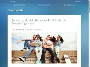 Facebook-Profil-fit-machen